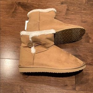 Old Navy Faux Suede Boots